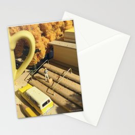 Sentimental Fall - Yellow Stationery Cards