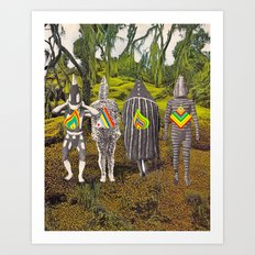 New Lands Art Print