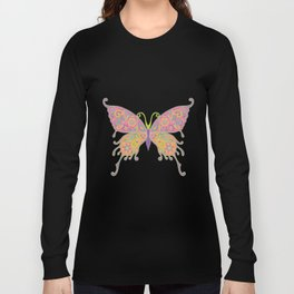 Butterflies Are Free To Fly... Long Sleeve T-shirt