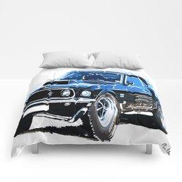 american muscle  Comforters