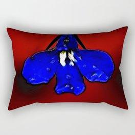 Lobelia Petal  Rectangular Pillow