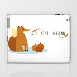 I love Autumm Laptop & iPad Skin