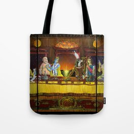 Pantheon Table Tote Bag
