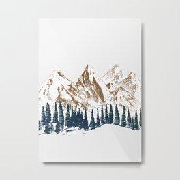 mountains 9 Metal Print