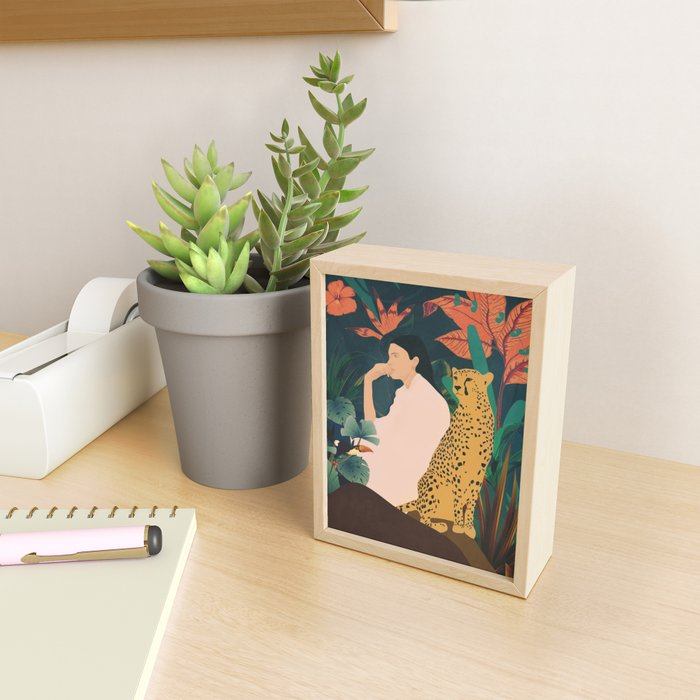 Into The Wild Framed Mini Art Print