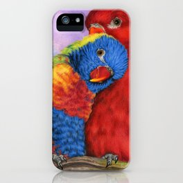 The Color Of Love iPhone Case
