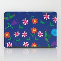 floral pattern iPad Cases featuring Floral pattern  by luizavictoryaPatterns