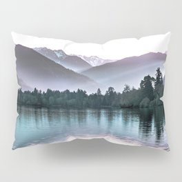 Shimmers of Quinault Lake Pillow Sham