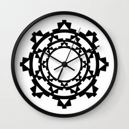 Pre-Columbian II Wall Clock