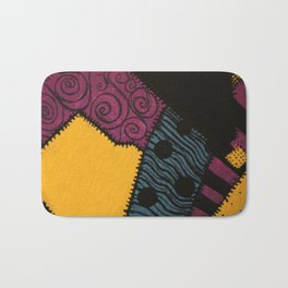 Sally's Dress Pattern - Nightmare Before Christmas Bath Mat