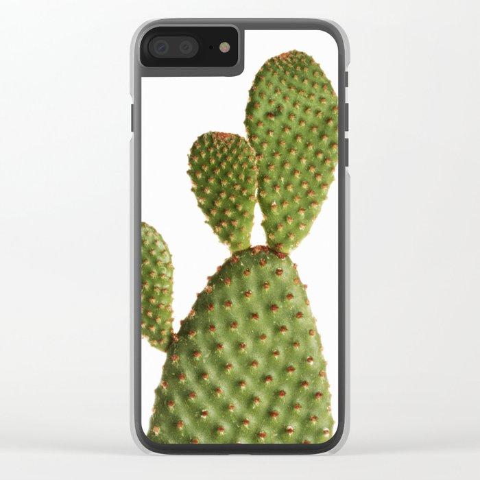 Minimal Cactus - Cacti Clear iPhone Case