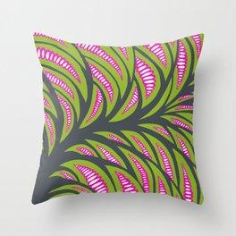 Little pink corns  Throw Pillow