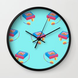 Back To The 90's Wall Clock