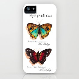 Nymphalidae butterflies iPhone Case