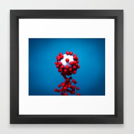 Particles Framed Art Print