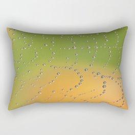 Web Jewels Rectangular Pillow