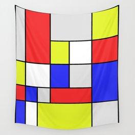 Mondrian #25 Wall Tapestry