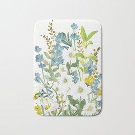 Wildflowers VI Bath Mat