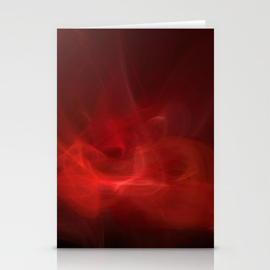 The Color of Passion Stationery Cards