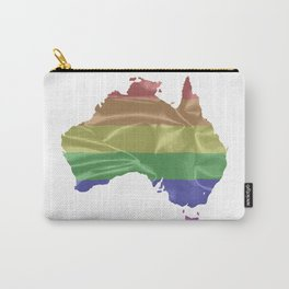 Australia Gay Pride Flag Carry-All Pouch