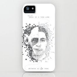 Thin line iPhone Case