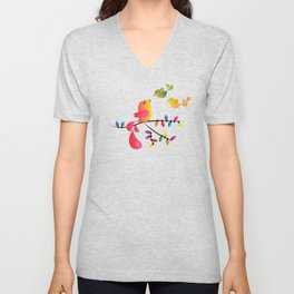 Welcome Home, My Babies! Unisex V-Neck