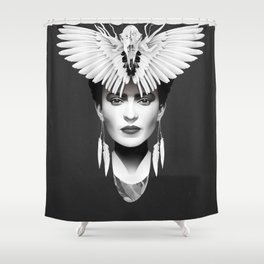 Your Darkest Everything Shower Curtain