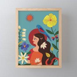 Dreamer Framed Mini Art Print