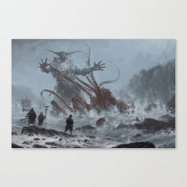 Ymaar - the ancient protector Canvas Print