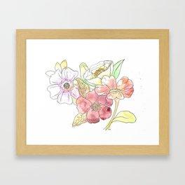 Floral I Framed Art Print