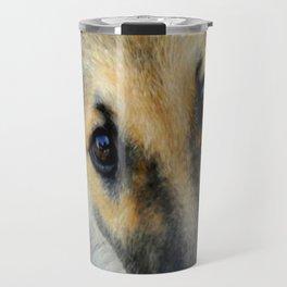 Up close & dog Travel Mug