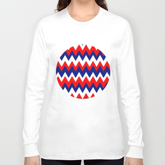 Red, White and Blue, 2016 Long Sleeve T-shirt