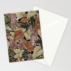 50's bongo leaf Stationery Cards