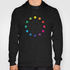 Simple Color Wheel Hoody