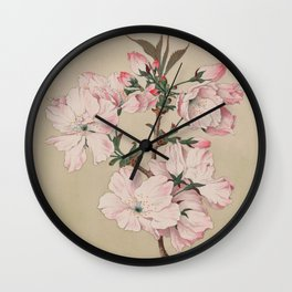 Ariaki - Daybreak Cherry Blossoms Wall Clock