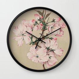 Ariaki - Daybreak Cherry Blossoms Wall Clock