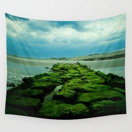 Storm Meets Ocean Wall Tapestry