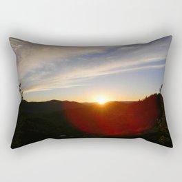 Glowing Sunset Rectangular Pillow