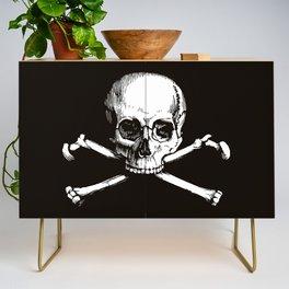 Skull and Crossbones   Jolly Roger Credenza
