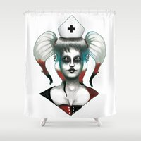 harley Shower Curtains featuring Harley ! by Alejandro Dayer