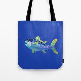 Atlantic Bluefin Tuna Tote Bag