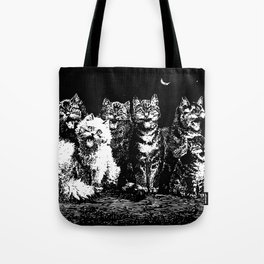 The Pack at Night Tote Bag