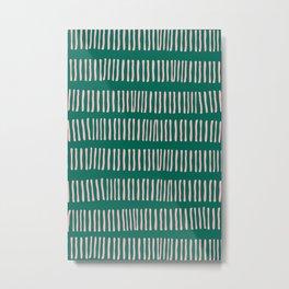Spring Line Up No 02 Metal Print