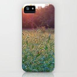 Field of light iPhone Case