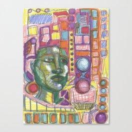 OCD Canvas Print