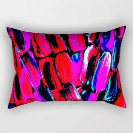 Dark Red Sugarcane Rectangular Pillow