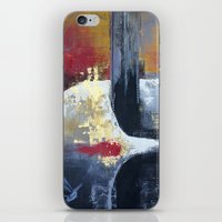 uncharted iPhone & iPod Skins featuring Glimpses from the Terabytical Depths of an Uncharted Mind by Rochana Dubey