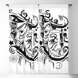 Zodiac - Gemini Blackout Curtain