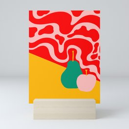apple and pear Mini Art Print