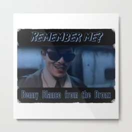 Benny Blanco from the Bronx Metal Print